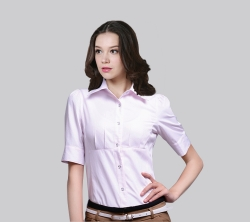 短袖女衬衫