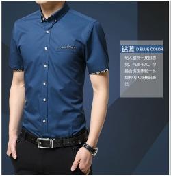 男衬衫 短袖