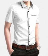 2016夏季新款男衬衫 短袖