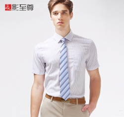 影至尊男士商务休闲衬衫
