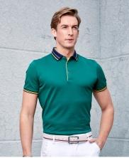 男士纯色商务POLO衫