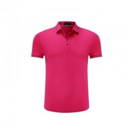 男士短袖商务T恤Polo衫修身T恤